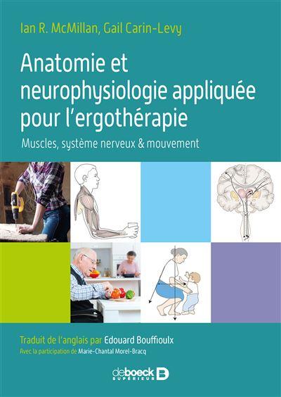 Anatomie et neurophysiologie appliquée pour l'ergothérapie