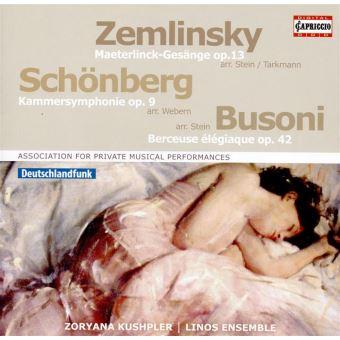 Symphonie de chambre op 9/six chansons op 13/berceuse