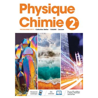 Physique Chimie 2nde Livre Eleve