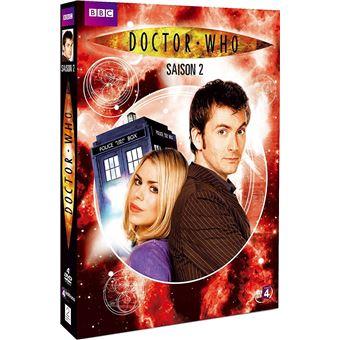 Doctor WhoCoffret Doctor Who Intégrale de la Saison 2 DVD