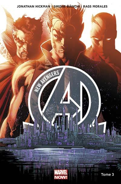 New avengers marvel now