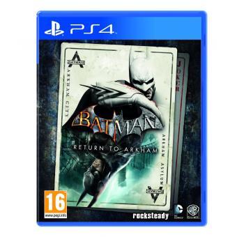 BATMAN: RETURN TO ARKHAM MIX PS4