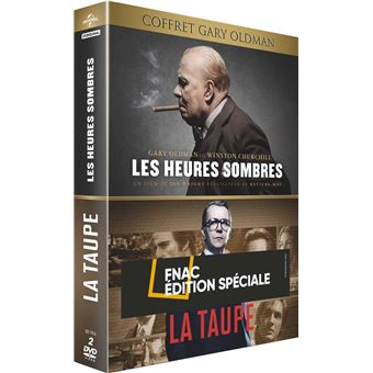Gary oldman/edition fnac/taupe/heures sombres