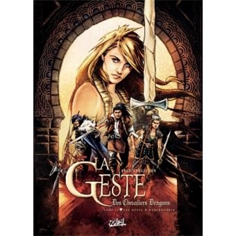 La geste des chevaliers dragonsGeste des Chevaliers Dragons 24 - Les Nuits d'Haxinandrie