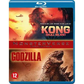 Kong - Skull Island + Godzilla   Bluray