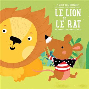 Le Lion Et Le Rat Cartonné Jean De La Fontaine Achat Livre Fnac