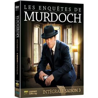 Les Enquêtes de MurdochLes Enquêtes de Murdoch Coffret Saison 3 Blu-ray