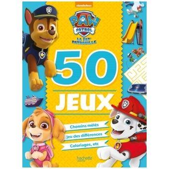 Pat' PatrouillePaw Patrol-La Pat'Patrouille - 50 jeux