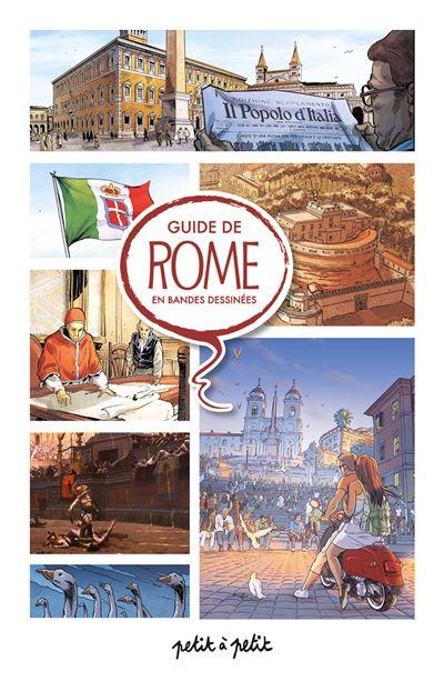 Guide de rome en bandes dessinees
