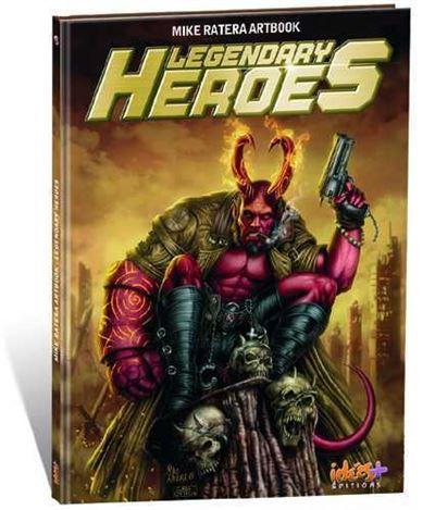 Artbook Mike Ratera : Héros de légendes