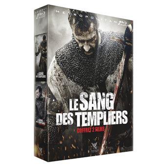 Coffret Le sang des templiers 2 films DVD