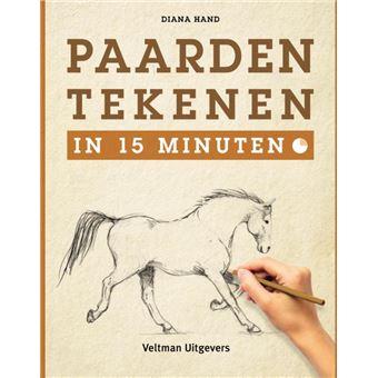 Paarden tekenen in 15 minuten