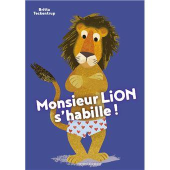 Monsieur Lion s'habille