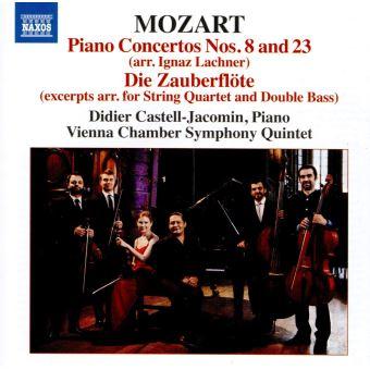 Concertos pour piano nos 8 et 23/flute enchantee