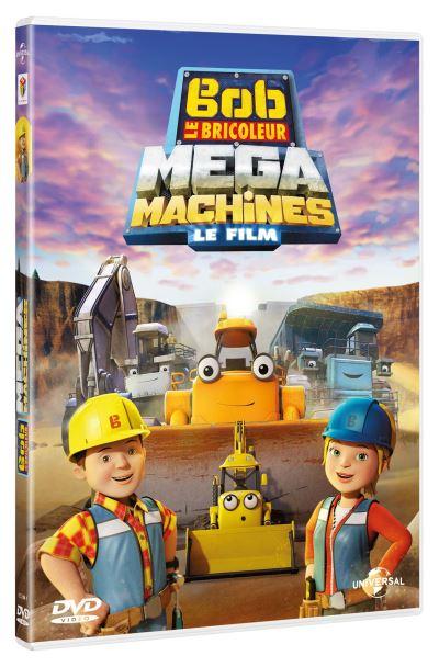 Bob Le Bricoleur Mega Machines Le Film Dvd Dvd Zone 2 Achat
