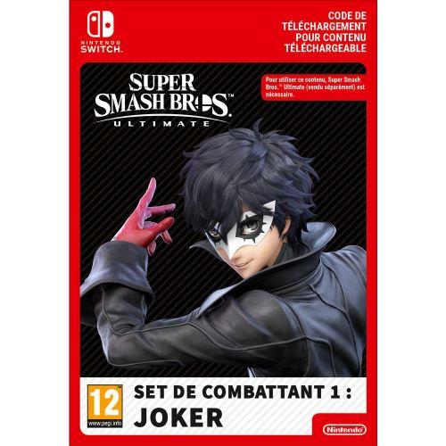 Code de téléchargement Super Smash Bros Ultimate Set de combattant 1 : Joker Nintendo Switch
