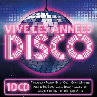 Vive les annees disco/10 cd