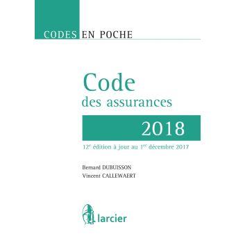 Code en poche - Code des assurances 2018
