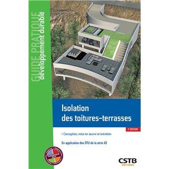 Isolation des toitures-terrasses étanchées