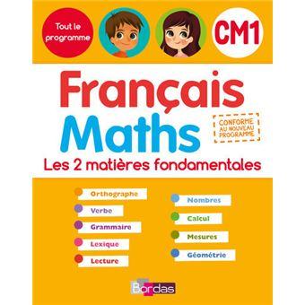 Tout le programme Français Maths CM1