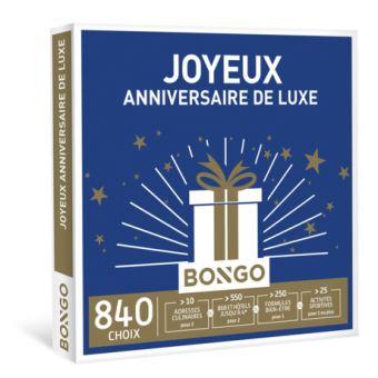 Bongo FR Joyeux Anniversaire de Luxe