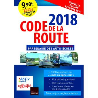 code de la route 2018 broch collectif livre tous les livres la fnac. Black Bedroom Furniture Sets. Home Design Ideas