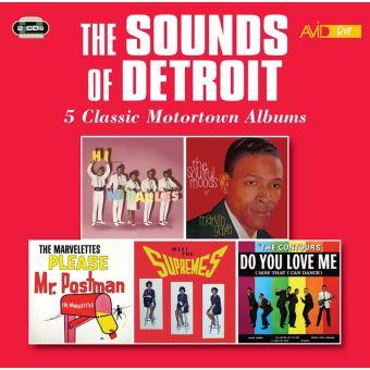 Five classic motortown albums