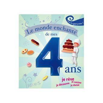 Le Monde Enchante De Mes 4 Ans Pour Les Garcons Relie Collectif