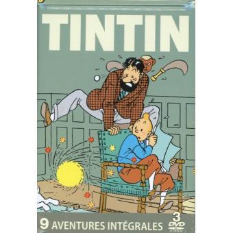 TintinTINTIN 9-BOITIER METAL-3 DVD-ED LIM-VF