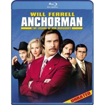 Urgundy/anchorman the legend of ron b/ws
