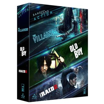 Coffret Action 3 films Blu-ray