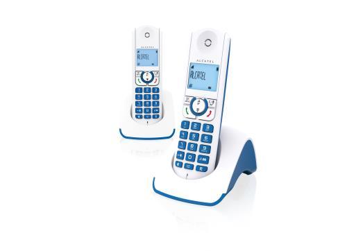 Alcatel F330 S PureSound Duo Bleu