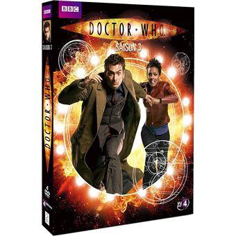 Doctor WhoCoffret Doctor Who Intégrale de la Saison 3 DVD