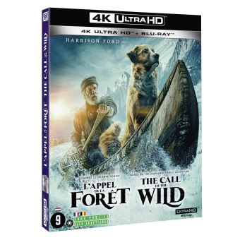 L'Appel de la Forêt Blu-ray 4K Ultra HD