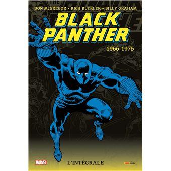 La Panthère NoireBlack Panther, L'intégrale 1966-1975