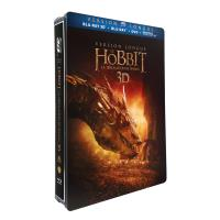 Le Hobbit : la désolation de Smaug version longue Steelbook Blu-ray 2D + 3D