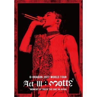 G-Dragon 2017 World Tour Act III Motte DVD