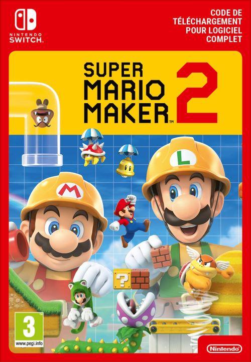 Code de téléchargement Super Mario Maker 2 Nintendo Switch