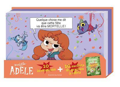 Invitations Mortelle Adèle de Mr Tan