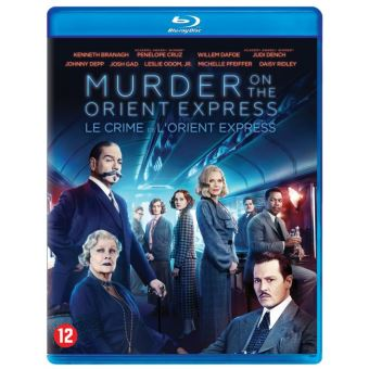 Murder on the orient express-BIL-BLURAY