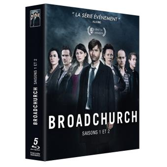 BroadchurchCoffret Broadchurch Saisons 1 et 2 Blu-ray
