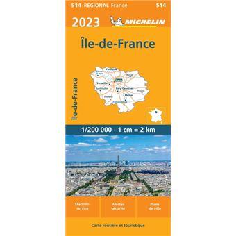 Ile De France 2021 Echelle 1 200 000 Broche Michelin Achat Livre Fnac