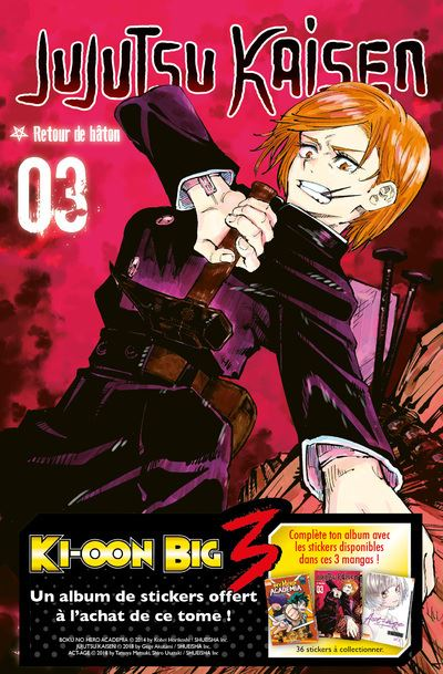 Jujutsu Kaisen T03 - OP Big Three