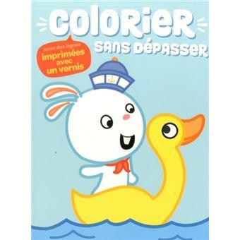 Colorier Sans Depasser Lapin Broche Collectif Achat Livre