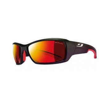 Lunettes de soleil sportives de couleur rouge hAC1y8QO