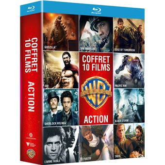 Coffret Action 10 films Blu-ray