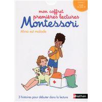 Mon coffret premières lectures Montessori : Mina est malade