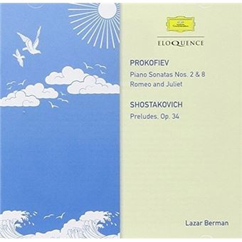 Piano Sonatas numbers 2 and 8 Romeo And Juliet Preludes Opus 34