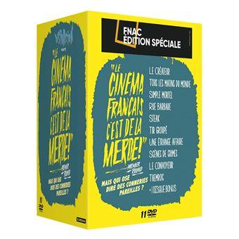 Coffret Le cinéma français, C'est de la merde ! 10 Films Volume 1 Edition Spéciale Fnac DVD