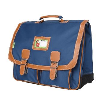 cartable tann 39 s dos 41 cm bleu denim cartable sac dos primaire achat prix fnac. Black Bedroom Furniture Sets. Home Design Ideas